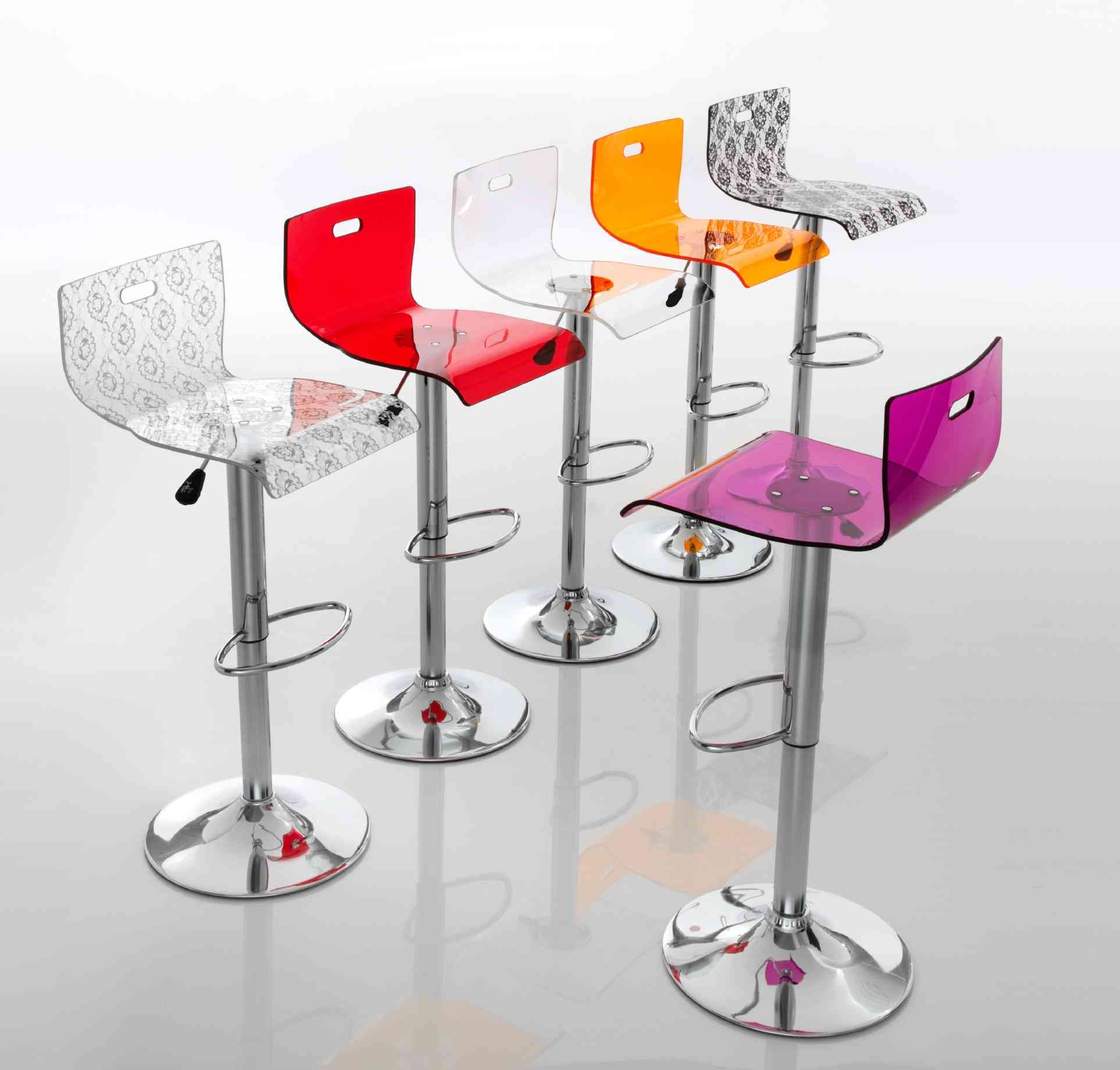 Rebecca sgabello eurosedia for Sgabelli design bar