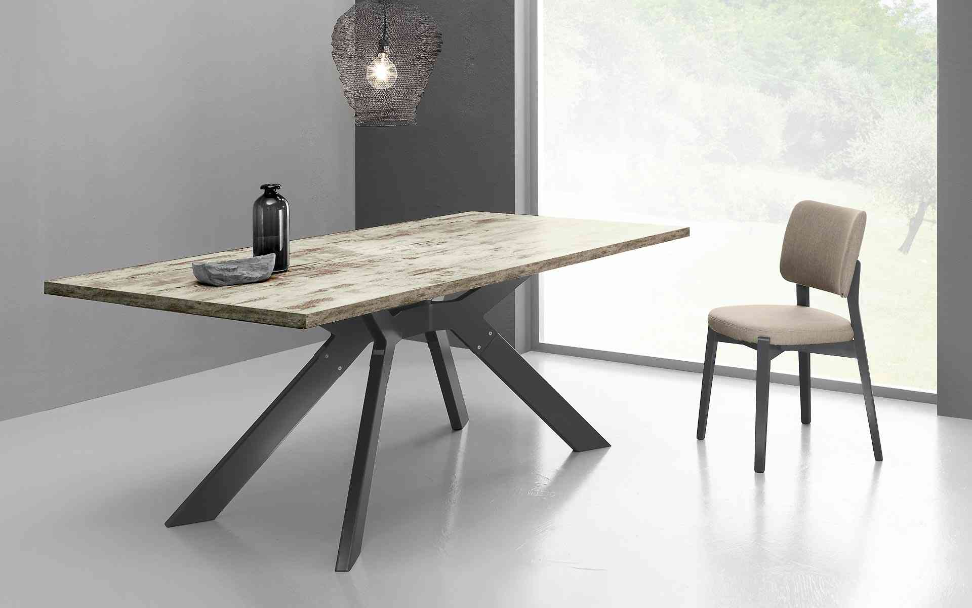 Eurosedia sedie sgabelli tavoli home office - Tavoli di design in cristallo ...